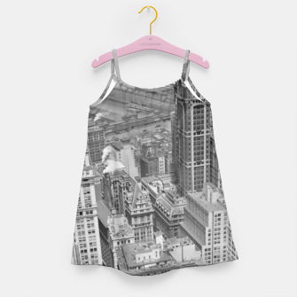 Buildings New York berenice Girl's dress obraz miniatury