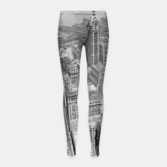 Buildings New York berenice Girl's leggings obraz miniatury