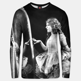 Thumbnail image of Lady mirror Unisex sweater, Live Heroes
