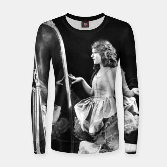 Thumbnail image of Lady mirror Women sweater, Live Heroes