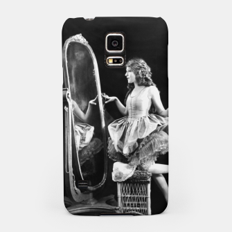Thumbnail image of Lady mirror Samsung Case, Live Heroes