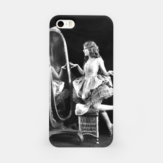 Thumbnail image of Lady mirror iPhone Case, Live Heroes