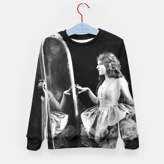 Thumbnail image of Lady mirror Kid's sweater, Live Heroes