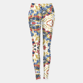 Miniatur Mosaic boho abstract Leggings, Live Heroes