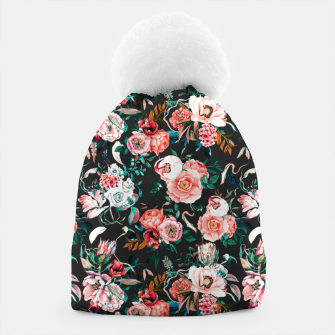 Thumbnail image of Vintage night flowery garden Gorro, Live Heroes