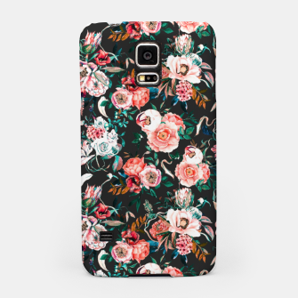 Thumbnail image of Vintage night flowery garden Carcasa por Samsung, Live Heroes