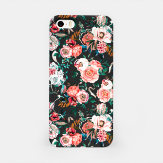 Thumbnail image of Vintage night flowery garden Carcasa por Iphone, Live Heroes