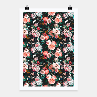 Thumbnail image of Vintage night flowery garden Cartel, Live Heroes