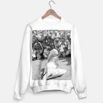 Thumbnail image of Photo of French actress Brigitte Bardot during 1958, Venice Film Festival Sweater regular, Live Heroes