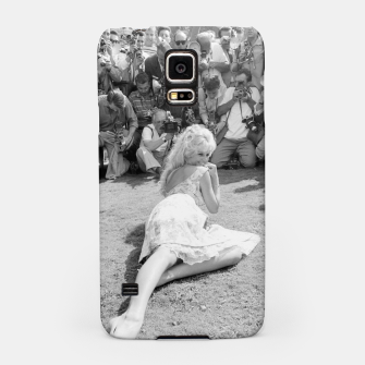 Thumbnail image of Photo of French actress Brigitte Bardot during 1958, Venice Film Festival Samsung Case, Live Heroes