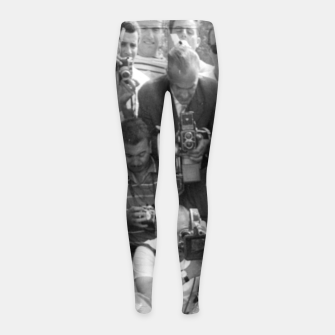Thumbnail image of Photo of French actress Brigitte Bardot during 1958, Venice Film Festival Girl's leggings, Live Heroes