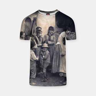 Thumbnail image of Photo by Alfred Stieglitz - The Last Joke Bellagio, 1887 T-shirt, Live Heroes