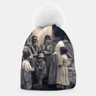 Thumbnail image of Photo by Alfred Stieglitz - The Last Joke Bellagio, 1887 Beanie, Live Heroes
