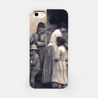 Thumbnail image of Photo by Alfred Stieglitz - The Last Joke Bellagio, 1887 iPhone Case, Live Heroes