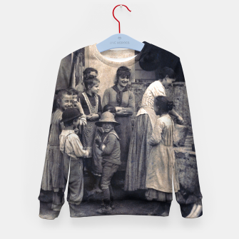 Thumbnail image of Photo by Alfred Stieglitz - The Last Joke Bellagio, 1887 Kid's sweater, Live Heroes