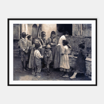 Thumbnail image of Photo by Alfred Stieglitz - The Last Joke Bellagio, 1887 Framed poster, Live Heroes