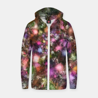 Thumbnail image of Night lights Zip up hoodie, Live Heroes