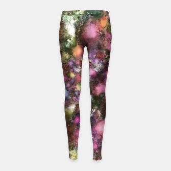 Thumbnail image of Night lights Girl's leggings, Live Heroes