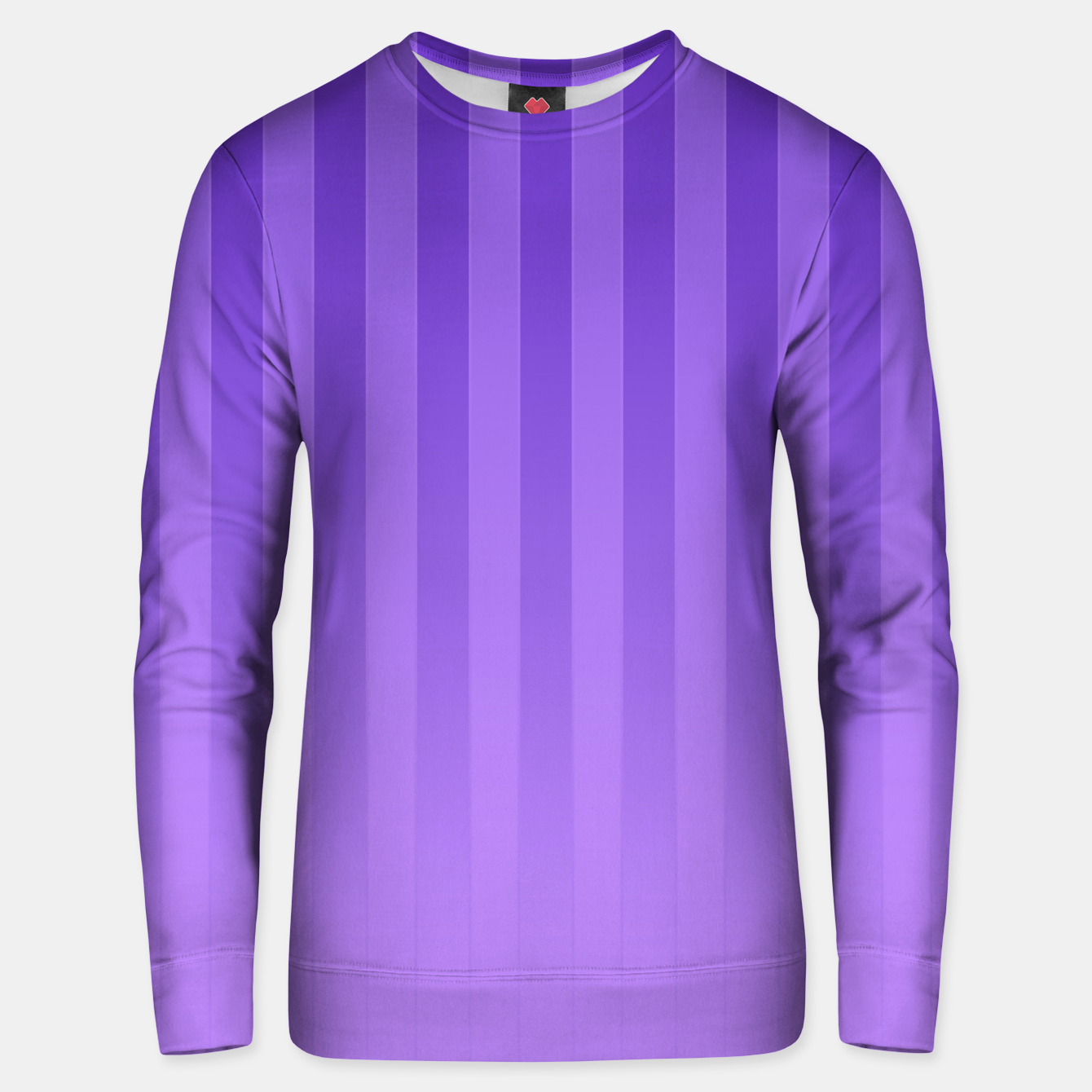 Image of Gradient Stripes Pattern ip Unisex sweater - Live Heroes
