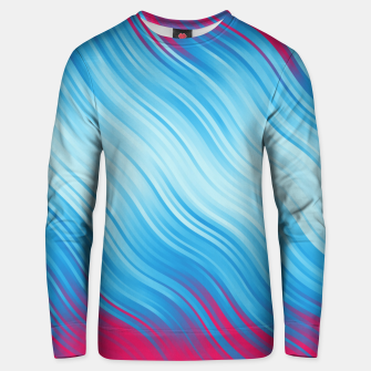 Miniature de image de Stripes Wave Pattern 10 bp Unisex sweater, Live Heroes