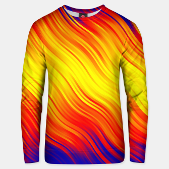 Thumbnail image of Stripes Wave Pattern 10 bry Unisex sweater, Live Heroes