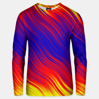Miniature de image de Stripes Wave Pattern 10 bryi Unisex sweater, Live Heroes