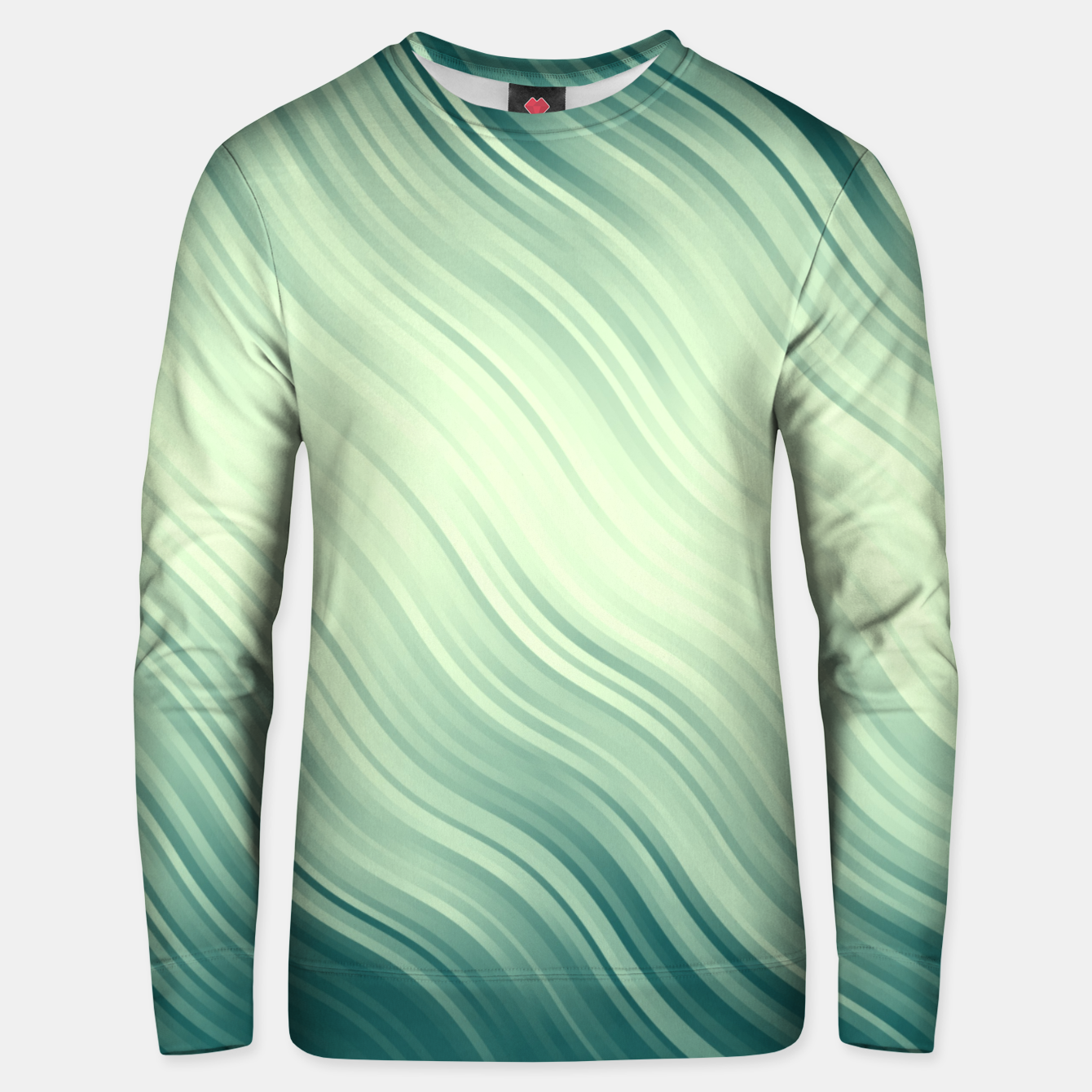 Image of Stripes Wave Pattern 10 lg Unisex sweater - Live Heroes