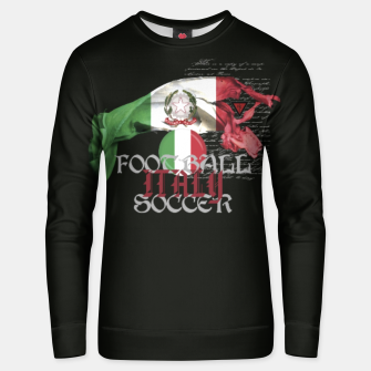 Thumbnail image of Italy Soccer Unisex sweatshirt, Live Heroes