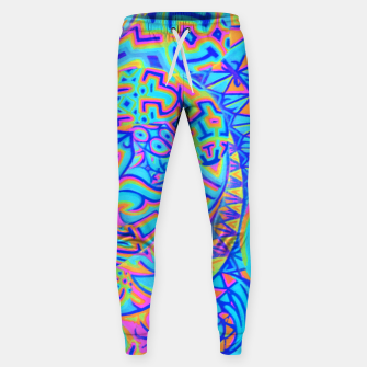 Thumbnail image of Cool Light Portal Sweatpants, Live Heroes