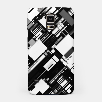 Thumbnail image of Black and White Graphic Design Samsung Case, Live Heroes