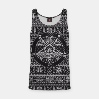 Thumbnail image of Satanic ugly sweater Tank Top, Live Heroes