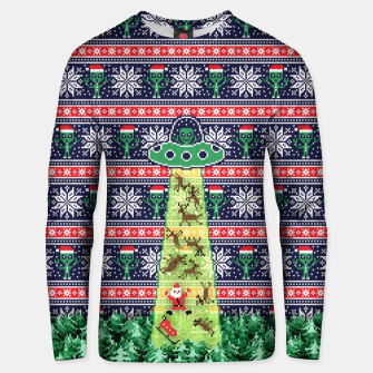 Thumbnail image of Christmas aliens Unisex sweater, Live Heroes
