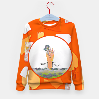 Thumbnail image of Live free Kid's sweater, Live Heroes