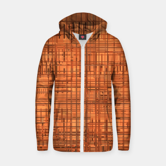 Thumbnail image of Rusty Zip up hoodie, Live Heroes