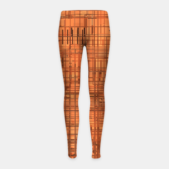 Thumbnail image of Rusty Girl's leggings, Live Heroes