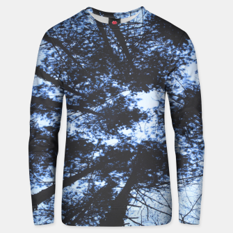 Thumbnail image of Looking Up At Trees Unisex sweater, Live Heroes
