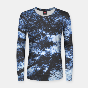 Thumbnail image of Looking Up At Trees Women sweater, Live Heroes