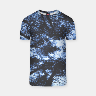 Thumbnail image of Looking Up At Trees T-shirt, Live Heroes