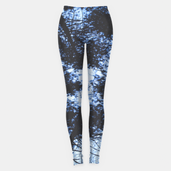 Thumbnail image of Looking Up At Trees Leggings, Live Heroes