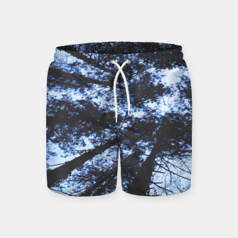 Thumbnail image of Looking Up At Trees Swim Shorts, Live Heroes