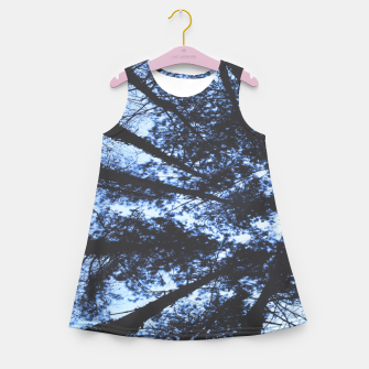 Thumbnail image of Looking Up At Trees Girl's summer dress, Live Heroes