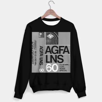 Thumbnail image of Fashion itens and decor art of a Label of a Cassette Tape Agfa  Sweater regular, Live Heroes