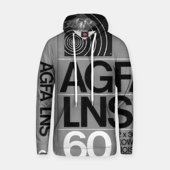 Thumbnail image of Fashion itens and decor art of a Label of a Cassette Tape Agfa  Hoodie, Live Heroes