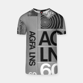 Thumbnail image of Fashion itens and decor art of a Label of a Cassette Tape Agfa  T-shirt, Live Heroes