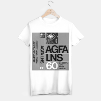 Thumbnail image of Fashion itens and decor art of a Label of a Cassette Tape Agfa  T-shirt regular, Live Heroes