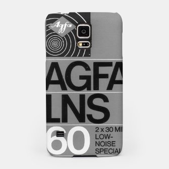 Thumbnail image of Fashion itens and decor art of a Label of a Cassette Tape Agfa  Samsung Case, Live Heroes