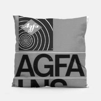 Thumbnail image of Fashion itens and decor art of a Label of a Cassette Tape Agfa  Pillow, Live Heroes