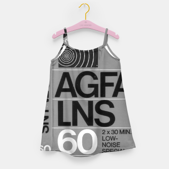 Thumbnail image of Fashion itens and decor art of a Label of a Cassette Tape Agfa  Girl's dress, Live Heroes