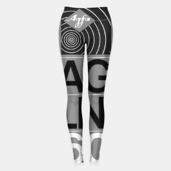 Thumbnail image of Fashion itens and decor art of a Label of a Cassette Tape Agfa  Leggings, Live Heroes