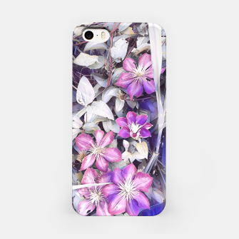 Thumbnail image of clematis flowers Obudowa iPhone, Live Heroes